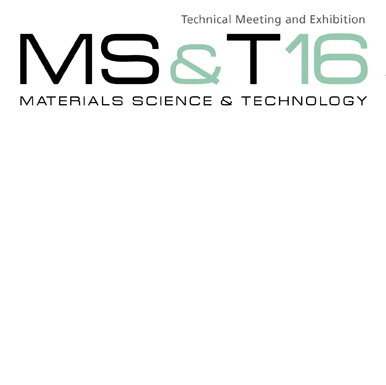 Materials Science and Technology 2016 logo